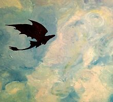 Toothless in the Sky by Hailey53098