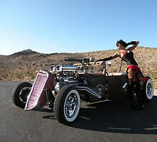 Rat Rod, Tattoo's and Jessenia by Rita  H. Ireland