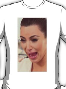 Kim Kardashian cry face T-Shirt