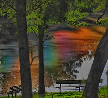 The Pollen Rainbow in HDR by barnsis