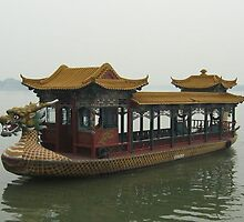 Summer Palace boat, China by chord0