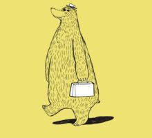 Mr. Bear Goes to Work Kids Clothes
