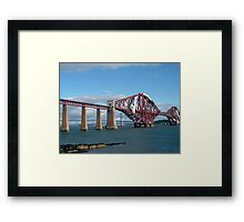 The Forth Bridges Framed Print
