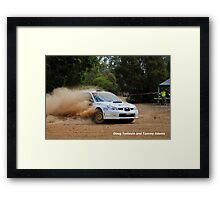 Tostevin and Adams Framed Print