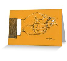 Finger Greeting Card