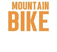 Burn Off The Crazy Mountain Bike T-shirt Photographic Print