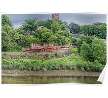 Alongside the River Dee, Chester, England #2 Poster