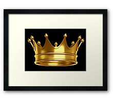 Crown,King,Queen Framed Print