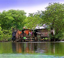 Life In Bocas Del Toro, Panama by Al Bourassa