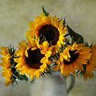 Sunflowers by inkedsandra