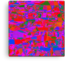 1098 Abstract Thought Canvas Print