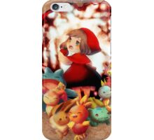 May as Little Red Riding Hood iPhone Case/Skin