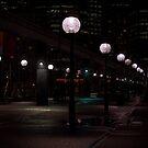 Walkway lights II by TerraChild