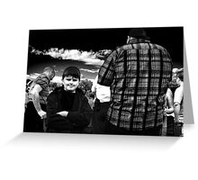 Little and Large Greeting Card