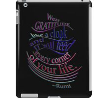 another wonderful RUMI quote iPad Case/Skin