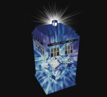 TARDIS Illustrated- Tom Baker by zenjamin
