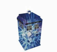 TARDIS Illustrated- Tom Baker Kids Clothes