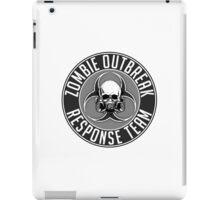 Zombie Response Team 1 iPad Case/Skin