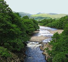 The River Conon in Strath Conon, Highlands of Scotland by jacqi