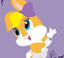Lola Bunny by Sarah Paskaruk