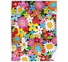 Spring Flower Power Poster