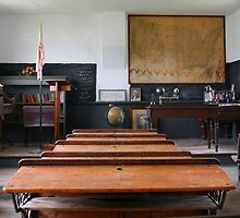 One-Room School House by Patricia Montgomery