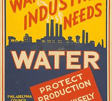 War Industry Needs Water by Vintagee