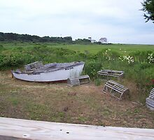 Cape Cod Rowboat by deedee48