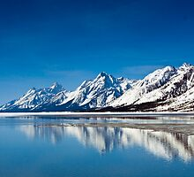 Grand Teton Reflection by LarryGambon