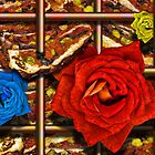 Pizza and Roses by GolemAura