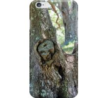 Spooky Face In A Tree iPhone Case/Skin