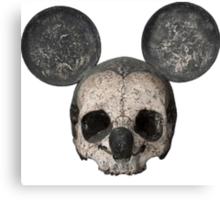 Creepy Mickey Mouse  Canvas Print