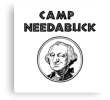 Camp Needabuck George Canvas Print
