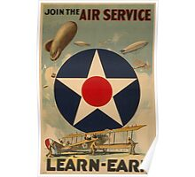 Air Service (Reproduction) Poster