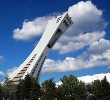 Olympic Stadium ~ Montreal by Joanne  Bradley