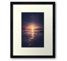 December Framed Print