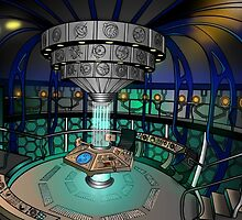 TARDIS Interior - Doctor Who by Milmino