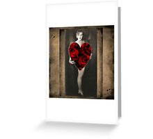 Be Mine - Let's Romance Greeting Card
