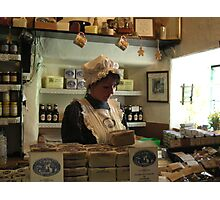 The Gingerbread Shop Photographic Print