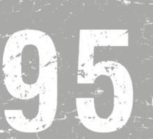Vintage 1955 Birthday Sticker