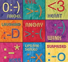 Emoticons Patch by Debbie DeWitt