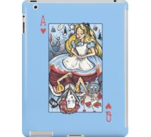 Alice and the Queen iPad Case/Skin