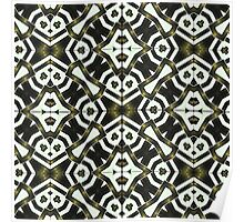 Abstract Geometric Modern Pattern  Poster