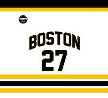 Boston Blades - Knight #27 (White) by seeaykay