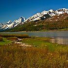 ~ The Grand Teton Mountain Range ~ by Tim Denny
