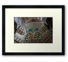 Stone Majesty Framed Print