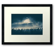Follow the light Framed Print