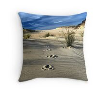 Emu Tracks 2. Throw Pillow