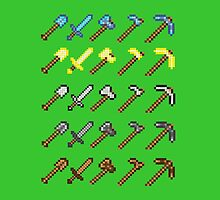 Minecraft Tool Inventory by hannahdethier