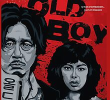 Old Boy - a film by Park Chan-Wook - movie poster by Aybanyoori